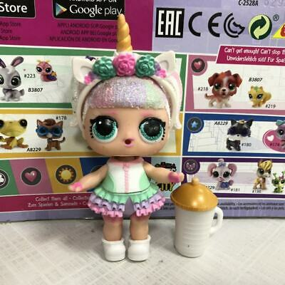 Limited LOL Surprise Doll Sparkle Series Glitter Unicorn toy collection gift