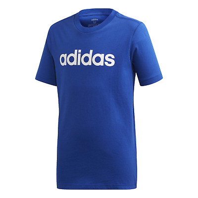 adidas Performance Kinder Sport Freizeit Shirt Essentials Linear T-shirt blau