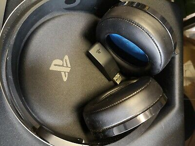 Sony Playstation 4 Platinum 7.1 Surround Wireless Gaming Headset Ps4 Band Snap