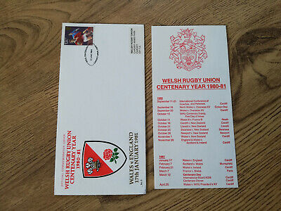 Wales v England 1981 Rugby First Day Cover