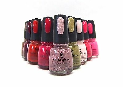 China Glaze Nail Polish Lacquer Assorted Colors Variety #794 to #871 .5oz/14mL