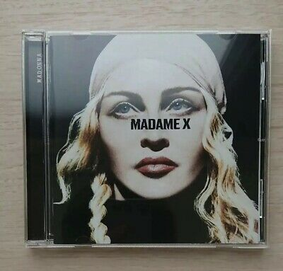JAPAN 2019 SHIPPING WITH TRACKING NUMBER MADONNA MADAME X CD w/BONUS TRACK