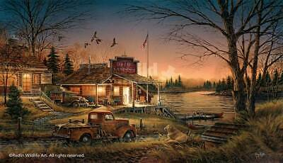 Terry Redlin Autumn Evening HD Print Art Home Decor Oil Painting on Canvas 12x20