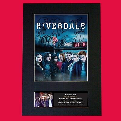 RIVERDALE TV Show Quality Autograph Mounted Signed Photo RePrint Poster A4 #816