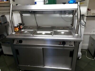 Commercial hot cupboard