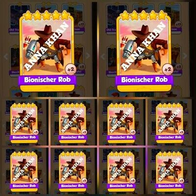 Coin Master Cyber Cowboys - The Saloon,New Set Rare Card (Delivery 5Min.)