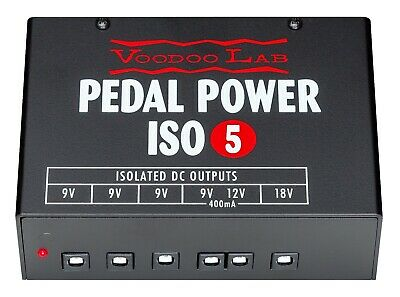 Voodoo Lab Pedal Power ISO-5 Factory Direct Refurbished w/ 5-Year Warranty