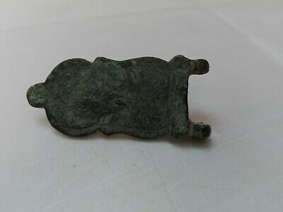 Belt Buckle Bronze Roman Ancient Zurqieh Rare Byzantine Holy Land Beautiful nice