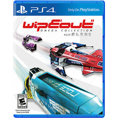 Wipeout: Omega Collection PS4 [Brand New]