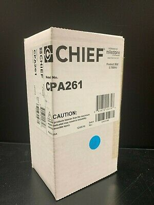 """Chief CPA261 Coupler Adapter CPA to Female 1.5"""" NPT Threaded Column Black"""
