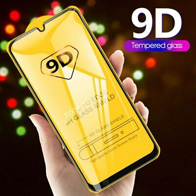 Full Cover Curved  9D Tempered Glass Screen Protector For Samsung Galaxy Phones