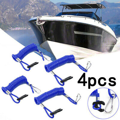 Safety Lanyard Rope Accessories Parts Blue Replacement Outboard Durable