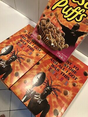 Travis Scott X Reeses Puffs Limited Edition Cereal