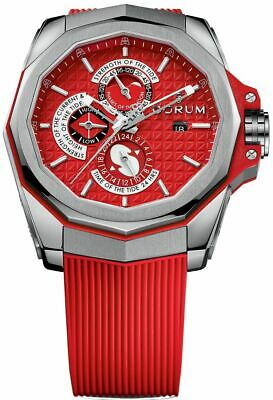 Brand New Red Corum Admiral AC-One 45 Tides Men's Watch 277.101.04/F376 AR12