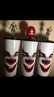 It Chapter 2 Canadian Movie Theater Collector Cup W/ Topper Pennywise SET of 3