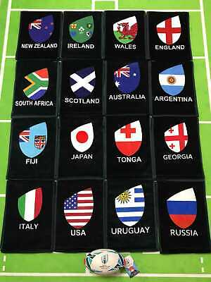 2019 Rugby World Cup Scarf Australia Ireland France Japan 20 Countries Scarf