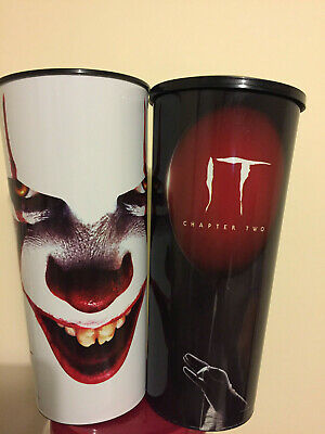 It Chapter 2 Canadian Movie Theater Collector Cup W/ Topper Pennywise SET of 2