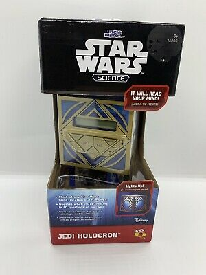New Star Wars Science Jedi Holocron 20 Questions Game Uncle Milton FREE SHIPPING