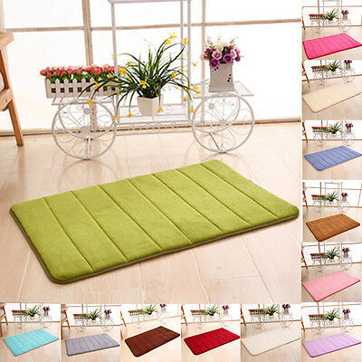 Fluffy Rugs Anti-Skid Shaggy Area Dining Room Home Bedroom Carpet Soft Floor Mat