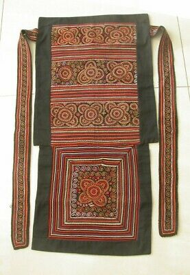 Rare Chinese Miao People's old  Hand Embroidery  baby carrier