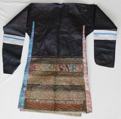 vintage tribal exotic chinese minority people's hand embroidery costume jacket