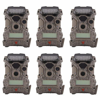 Wildgame Innovations Mirage No Glow 18 MP Hunting Trail Game Camera (6 Pack)