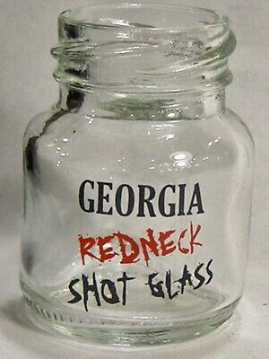 Georgia Redneck 1 OZ Shot Glass #4734