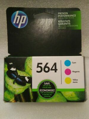 HP 564 Set of 3 Color Ink Cartridges NEW Genuine New Generation