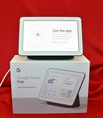 Google GA00515-US Google Home Hub With Box & Power Cord