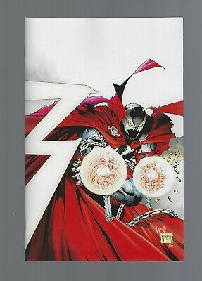 SPAWN #300 1:25 TODD MCFARLANE & CAPULLO VIRGIN VARIANT iMAGE COMIC