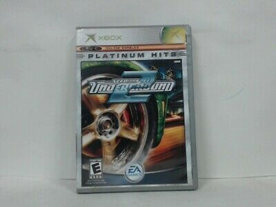 NEED FOR SPEED UNDERGROUND 2 Xbox w/ Original Box Good