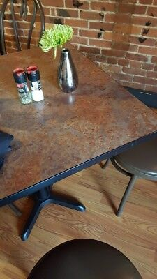 5 Tabletops Dining Commercial Restaurant Used Indoor Table Tops Earth-tones