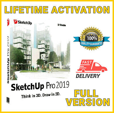 🔥🔥SketchUp Pro 2019 🔑 Lifetime License 🔑 Never Expire 📥 Fast Delivery🔥🔥