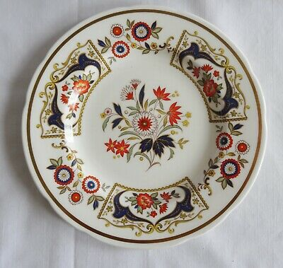 PARAGON CHELSEA   English Salad or Dessert  Plate cobalt blue and gold