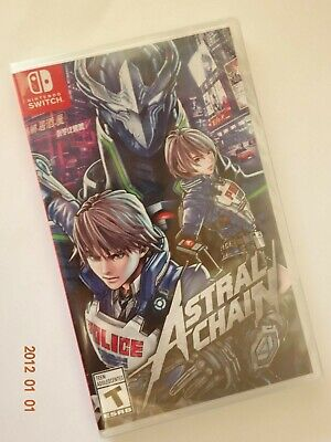 Astral Chain Nintendo Switch Brand New Free Shipping!!