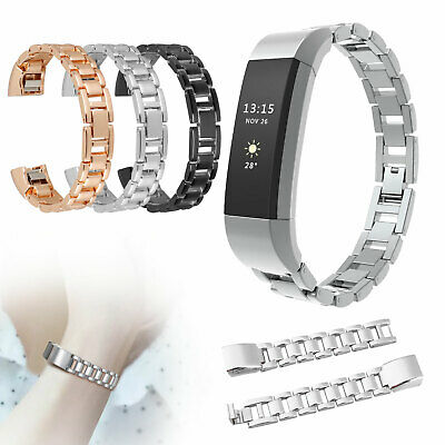 Stainless Steel Metal Watch Band Bracelet Strap wristband for Fitbit Alta & HR
