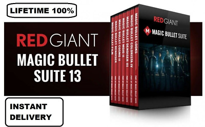 Red Giant Magic Bullet Suite 13 - License Key Full Version -  INSTANT DELIVERY