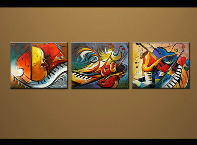 Framed Large Wall Art MODERN ABSTRACT OIL PAINTING On Canvas Contemporary oil77