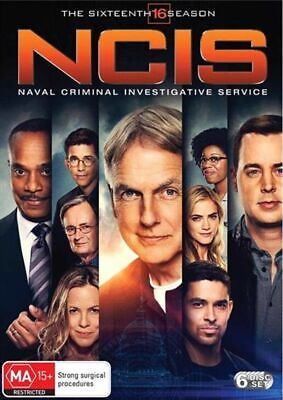 NCIS Season 16 Series sixteenth NEW DVD Brand New Sealed FREE TRACKING