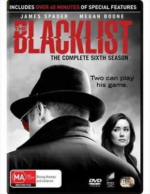 The BLACKLIST Season 6 Series sixth NEW DVD Brand new sealed