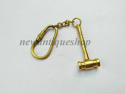 Nautical Brass Hammer Retro Key-chain Key Ring Pendant Vintage style keychain