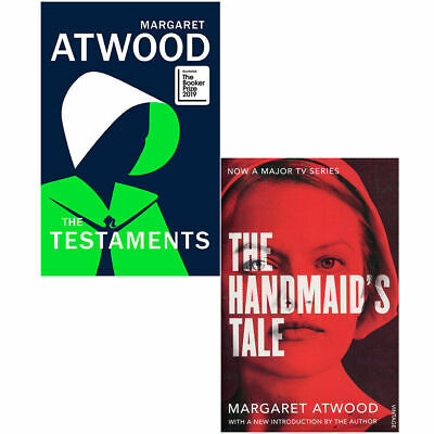 Margaret Atwood 2 Books Collection Set Handmaid's Tale, Testaments Paperback NEW