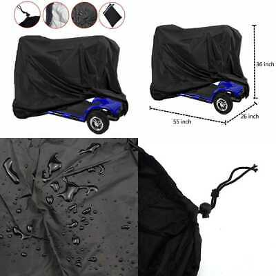Mobility Scooter Storage Cover Wheelchair Waterproof Lightweight Rain Protector
