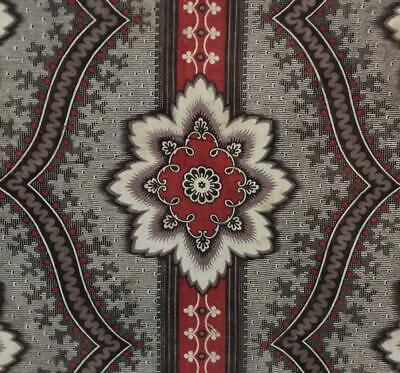BEAUTIFUL MID 19th CENTURY FRENCH COTTON MADDER PRINT c1840s 546.