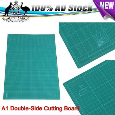 A1 60x90cm Thick 5-Ply Self Healing Craft Cutting Mat Double Side Print Quilting