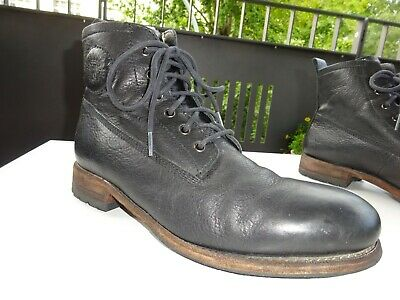 BLACKSTONE GOODYEAR WELTED Herren Winter Schuhe LAMMFELL