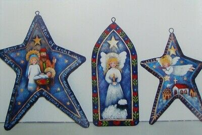 """Rosemary West tole painting pattern """"Starry Night Ornaments"""""""