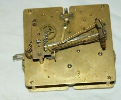 Vintage Clock Movement (4 hammers) Spares/Repair