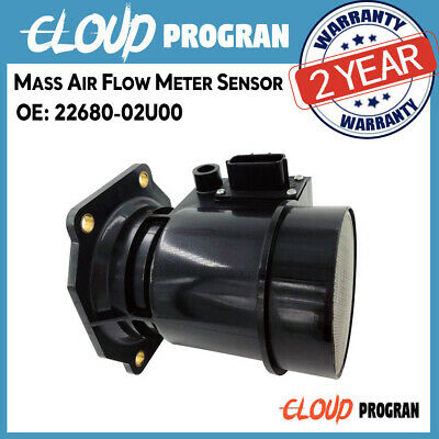 Fits Nissan Skyline R32 R33 Altima D21 240SX Mass Air Flow Sensor Meter MAF