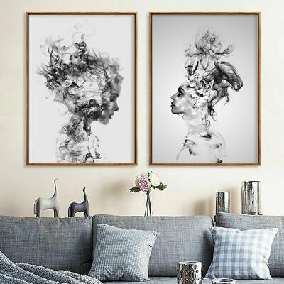 Modern Canvas Art Painting Print Home Abstract Picture Decor Unframed Usku4o